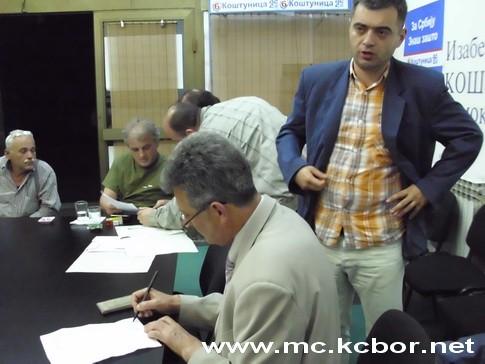 U Izbornom štavu DSS-a Bor
