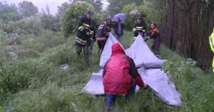 Postavljanje gumene brane u Zaječaru za odbranu od poplava