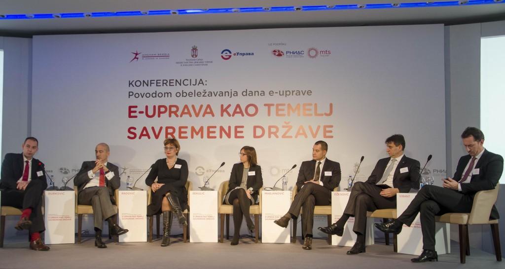 Konferencija 'Е-uprava kao temelj savremene države'