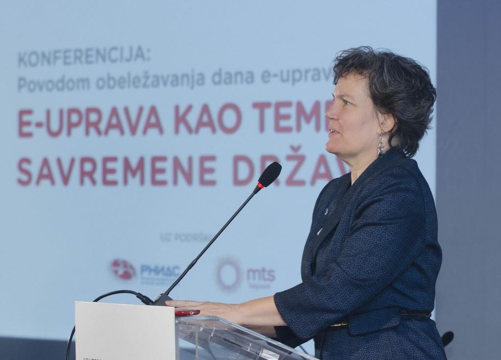 Kori Udovički, potpredsednica Vlade i ministarka državne uprave i lokaln...