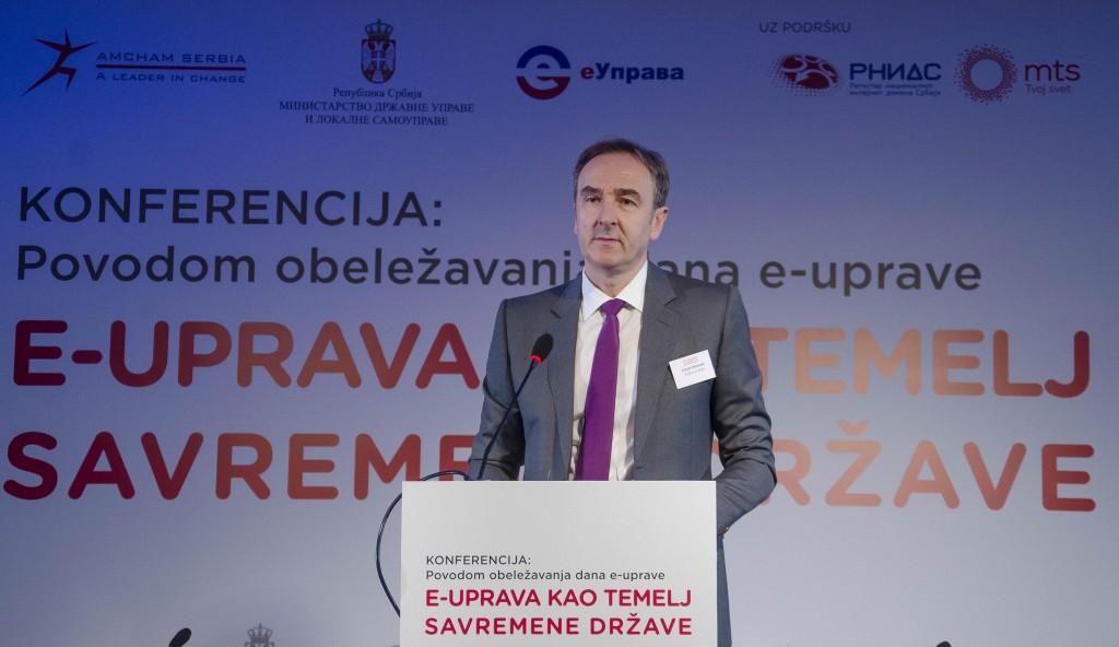 Zoran Petrović, predsednik Upravnog odbora AmCham-a