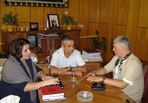 Састанак код председника Општине Књажевац