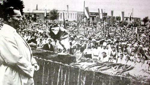 Tito govori Boranima, jun 1961.