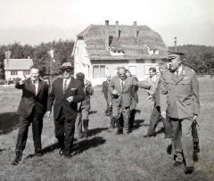 Tito i Božin Jovanović ( direktor RTB-a 1965-1975) na Crnom vrhu
