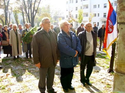 Borani pred spomenikom Kralju Aleksandru Ujedinitelju u Obrenovcu