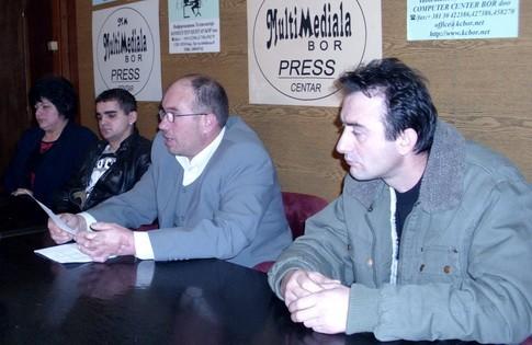 Konferencija za novinare grupe građana Zlota