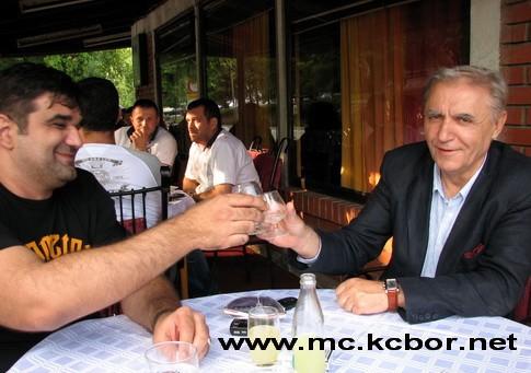 Blagoje Spaskovski i Sasa Mirkovic