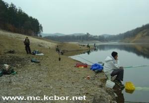 jezero ribol 12.3. ok 2