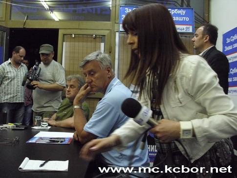 U Izbornom štabu DSS-a Bor