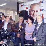 Sa slave SNS-a, Zlata Marković u sredini