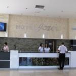 Hotel jezero recepcija
