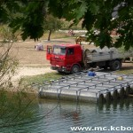 Radovi splav jezero 3