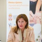 Stana Bozovic, drzavna sekretarka u Ministartstvu rada, zaposljavanja i socijalne politike 2