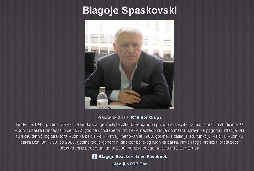 Spaskovski RTB Bor