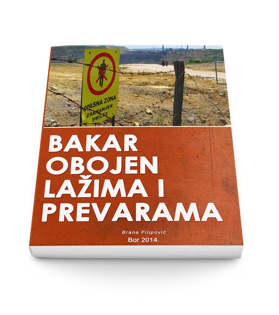 Nova knjiga: BAKAR OBOJEN LAŽIMA I PREVARAMA