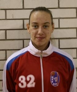 Jelena Nikpaljević najbolji strelac prve lige
