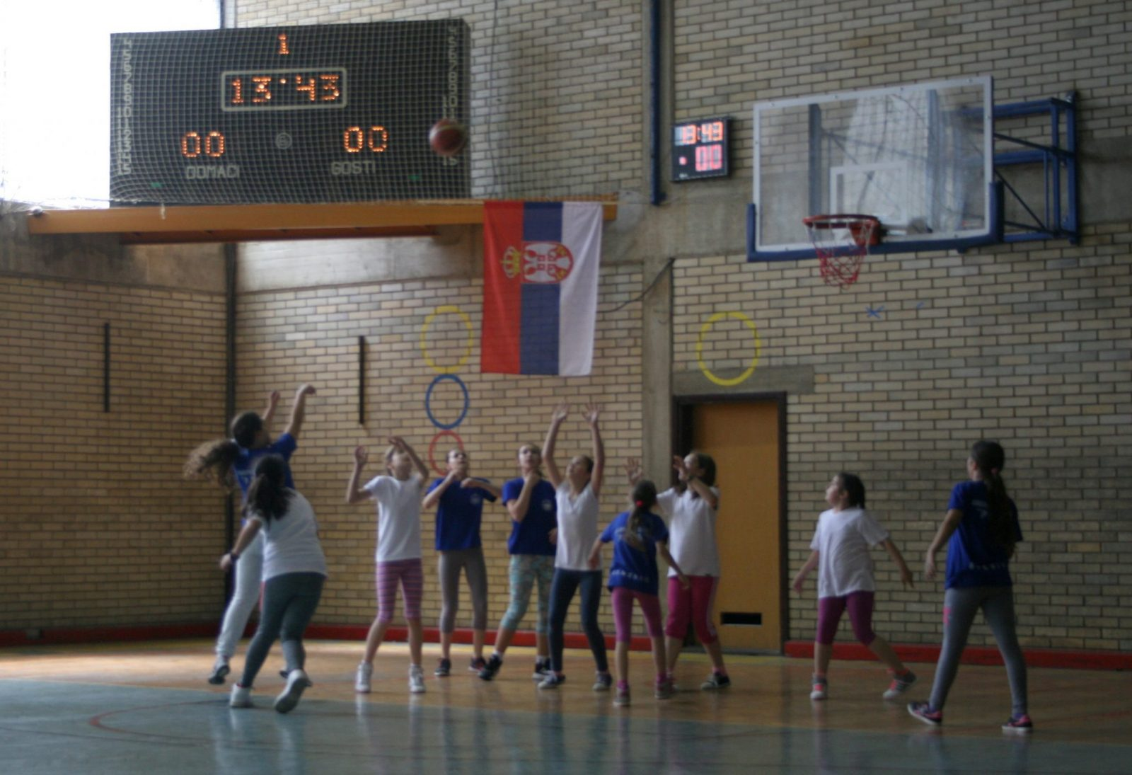 Prva utakmica najmlađih košarkašica ŽKK BOR