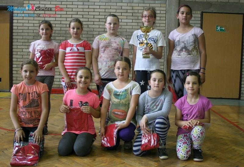 Najmlađe borske košarkašice osvojile prvi trofej