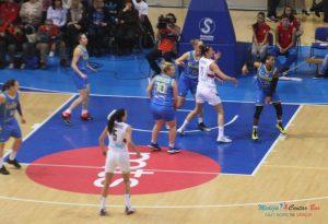 Ženska reprezentacija u Nišu: Srbija - Ukrajina 82:88