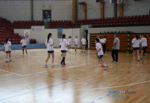 Rukomet : Prvenstvo Srbije Ž-14 prvi takmičarski dan