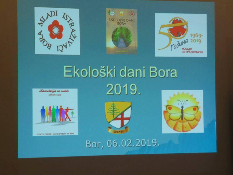 EKOLOŠKI DANI BORA ZA 2019.