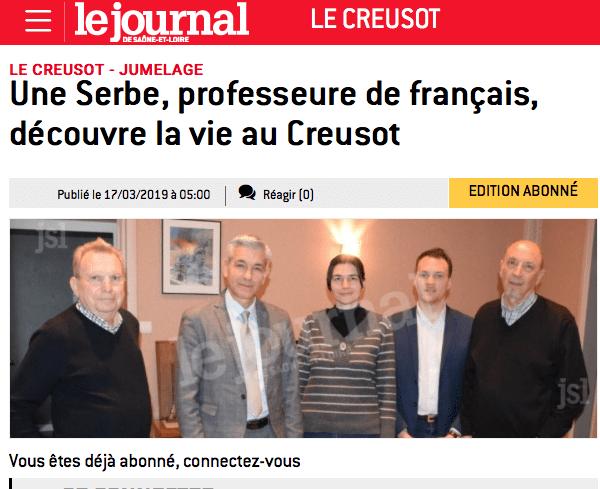 Poseta delegacije Francuskog instituta
