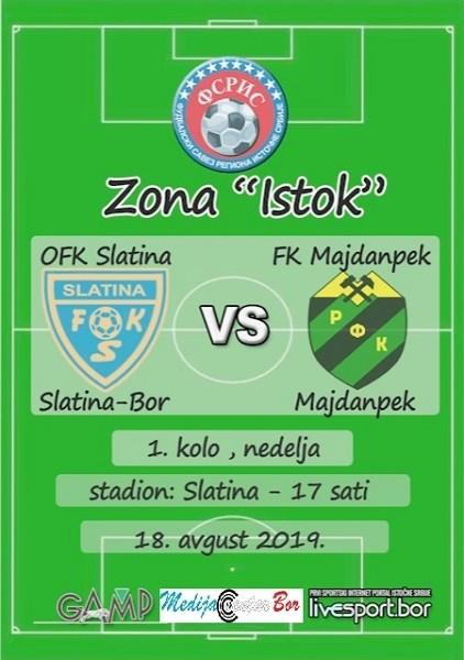 Kreće fudbalska Zona ISTOK