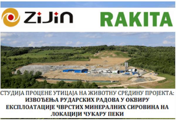 Procena uticaja na životnu sredinu novog rudnika