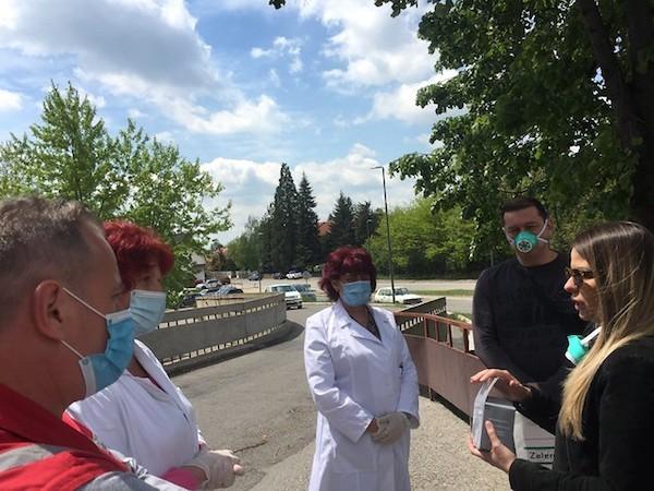Zelene Maske za zdravstvene radnike na istoku Srbije