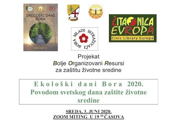 Ekološki dani Bora 2020