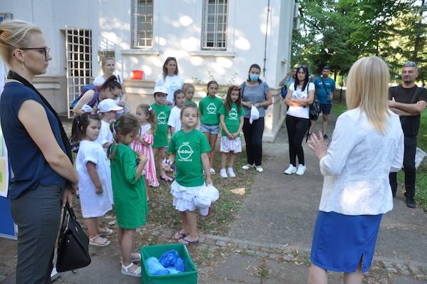 Moje eko vrtić - izložba dečjih radova