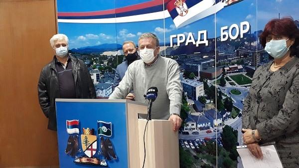 Korona virus: Sve teža situacija u Boru - zaraženo 855 gradjana